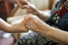 Elderly Woman Hands
